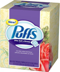 Puffs Ultra Soft & Strong Facial Tissues - 56 Tissues, 2 Ply