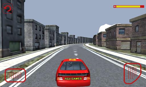 高速のカーレース3D