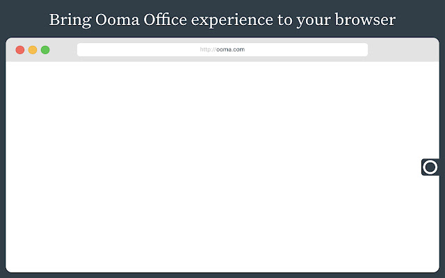 Ooma Office for Chrome