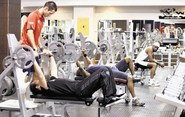 Gym. Picture: SUNDAY TIMES