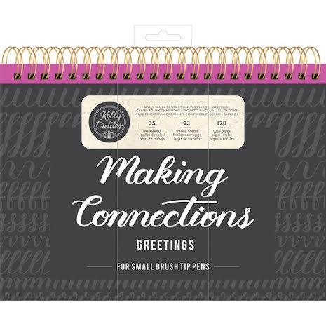 Kelly Creates Small Brush Workbook 11.6X10 128/Pkg - Greetings