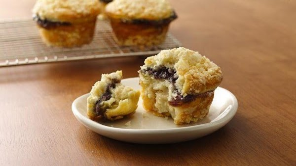 Heat oven to 350°F. Generously spray 8 regular-size muffin cups (2 3/4x1 1/4 inches)...