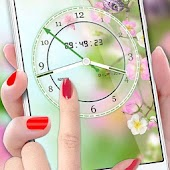 Flower Clock Live Wallpaper 2018: Luxury Watch 3D