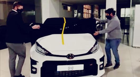 Toyota Almería entrega el primer GR Yaris