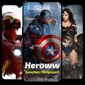Heroww - Superhero Wallpapers - HD 2K 4K Wallpaper icon