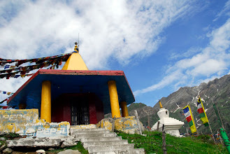 Photo: Stupa prop de Rohtang la