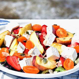 Seaside Summer Fruit Salad With Feta.