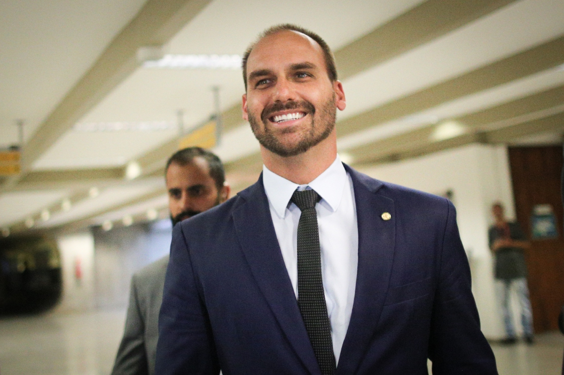 Brazil prosecutors seek to bar Bolsonaro's son as envoy to US