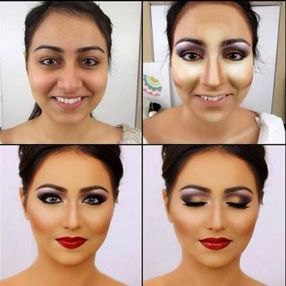化妆教程一步一步