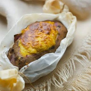 Fish-stuffed Potato.
