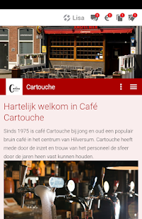 Café Cartouche- screenshot thumbnail