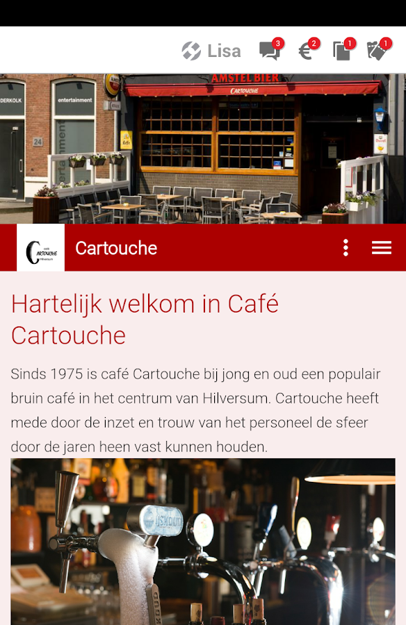 Café Cartouche- screenshot