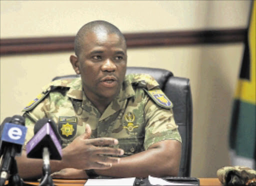 LIMITS: Nhlanhla Mkhwanazi sees no need for more security for the Mdluli case detectives.
