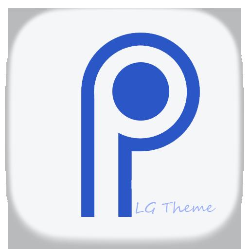Theme Android P Design for LG V30