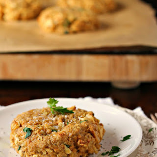 Oven Roasted Salmon Cakes.