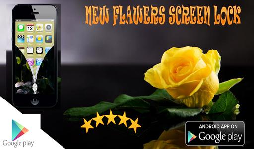 new Flowers Screen Lock