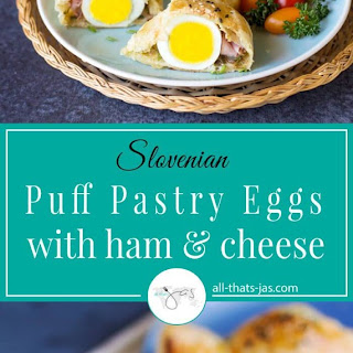 Puff Pastry Eggs with Ham and Cheese Recipe