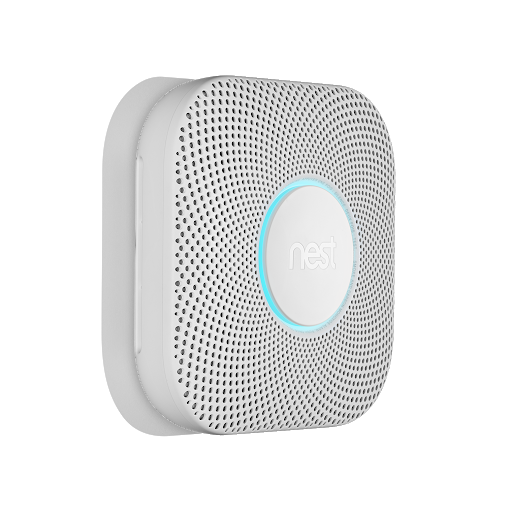 Angle view of Nest Protect, 2nd Generation