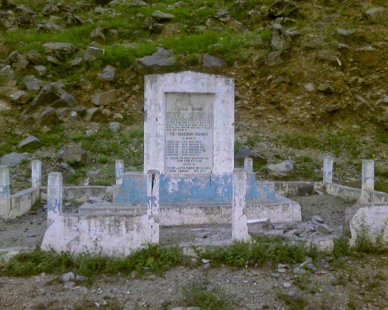 Monument: Shuhada of KKH