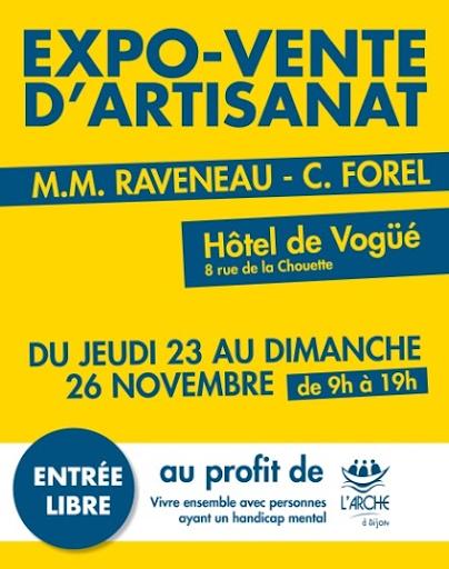 Expo-vente au profit de L'Arche à Dijon