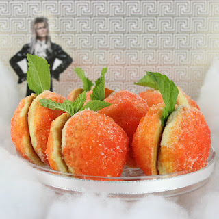 Labyrinth Peach Cookies