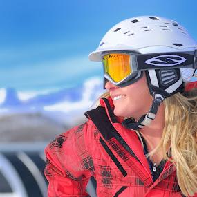 Skiing in Sun Valley, Idaho by Tory Taglio - Sports & Fitness Snow Sports ( baldy, ski resort, powder, ketchum, sun valley, skier )