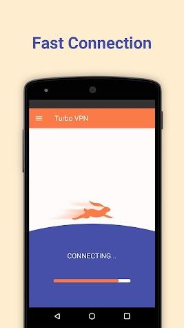 Turbo VPN – Free Unlimited VPN & Secure Hotspot Screenshot