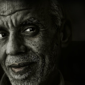 Atif The hardworking man by Leyon Albeza - People Portraits of Men