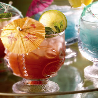 Mai Tai and Blue Hawaiian
