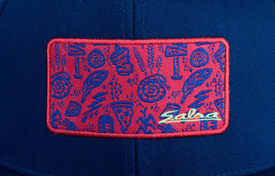Salsa Gravel Icons Trucker Hat - Blue, Red, Yellow, One Size alternate image 0