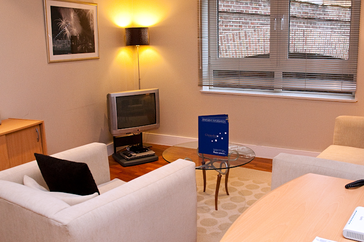 living space at Pepys Street Apartments Tower Hill