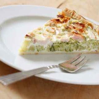 Cheesy Broccoli & Bacon Quiche