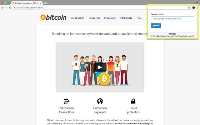 CoinMarketCap Search Tool