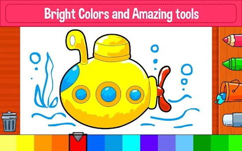 Learning & Coloring Game for Kids & Preschoolers 1