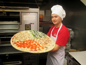 Photo: Petar from Bulgaria. Awesome Pizza Chef!!!