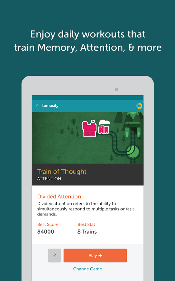Lumosity - Brain Training- screenshot