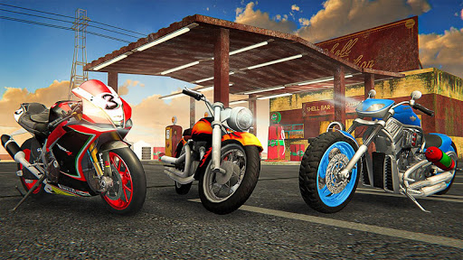 Racing In Moto Traffic Stunt Race 1.14 screenshots 3
