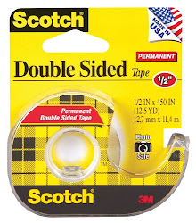 3M Scotch Double Sided Tape - 12inch x 450feet