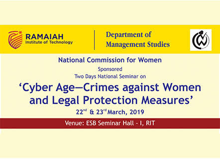 workshop on cyber crimes against women