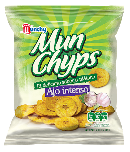 snack munchy toston con ajo 40gr