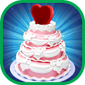 Heart Wedding Cake Cooking – Baking Chef Simulator