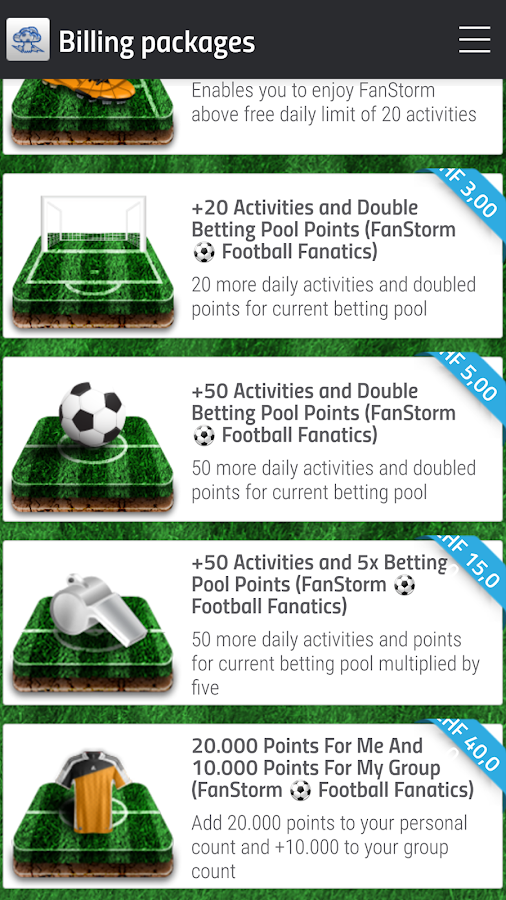 Football Fanatics ⚽️ FanStorm - Clash of Fans- screenshot