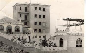 Photo: Hotel El Mesón en construcción