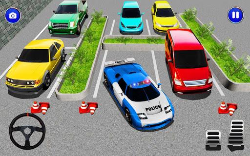 Télécharger mania de stationnement de voiture police moderne apk mod screenshots 2
