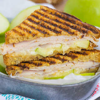 Turkey, Apple and Brie Panini