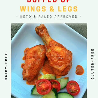 BUFFED UP CHICKEN WINGS & LEGS