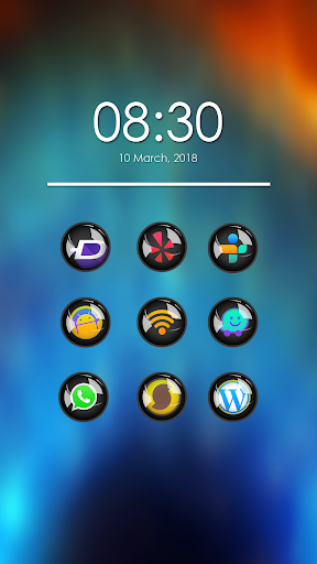 Screenshot for Nixio - Icon Pack in United States Play Store