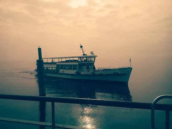 Nebbia sul lago di alessandro_scognamiglio