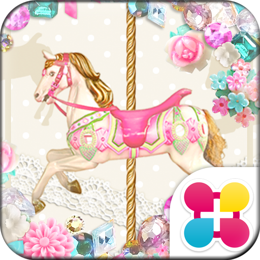 Fairy tale carousel Wallpaper Icon