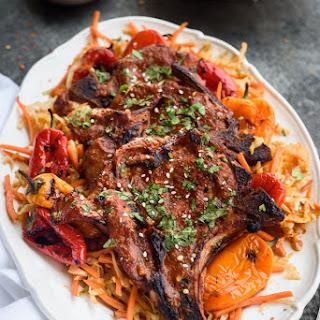 Korean Pork Chops.